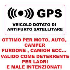 ADESIVO STICKER ANTIFURTO SATELLITARE GPS NERO 4 PEZZI BMW SERIE 1 3 5 X1 X3 X4