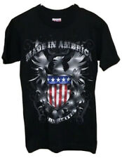 Toby Keith Made In America 2011 Concert Tour Black Graphic Shirt Size Small