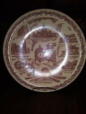 "Chicago Collector Plate Marshall Field Vernon Kilns 10.5"" Vintage"