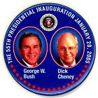 "~  "" THE 55TH PESIDENTIAL INAUGURATION / BUSH-CHENEY "" ~  2005 Inaugural Button"