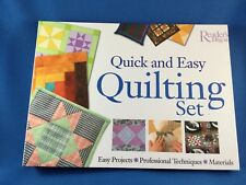 Quick and Easy Quilting Set by Reader's Digest Editors (2004)