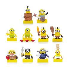 Minions Figurines Série 3 Mega Bloks Lotto 10 Neuf New Collection