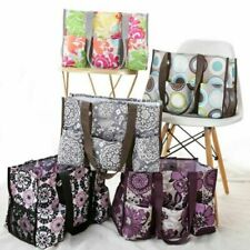 New Thirty One Organizing Utility Tote Top-Open Handbags Beach 31 Metro bag