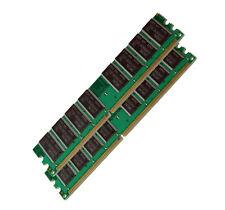2GB Samsung DDR RAM 400 Speicher PC 3200 Computer DDR1 Arbeitsspeicher 2x 1GB