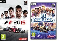 f1 2015 & f1 race stars  new&sealed