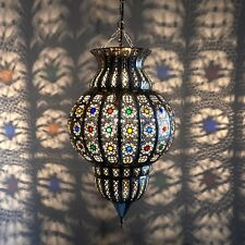 Orientalische Hängeleuchte Marokkanischer Lampe Orient Hängelampe KKCH H60 cm