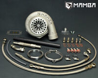 "MAMBA GTX Billet Turbocharger SAAB B207 4"" .70 Bullet AS GT3582R .64 T3 V-Band"