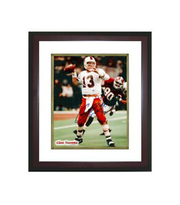 Gino Torretta signed Miami Hurricanes 8x10 Photo w/ '92 Custom Framed (Heisman)