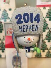 un Awesome Nephew Sapin de Noël Hallmark souvenir Ornement Neuf en boîte