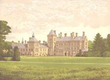 WALTON HALL, Stratford-on-Avon, Warwickshire (Mordaunt, Baronet) 1892 print