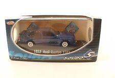 Solido n°1853 - Audi Quattro 1982 - 1/43 en boîte