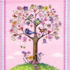4x Love Tree Tovaglioli Di Carta Rosa per Decoupage Decopatch Craft