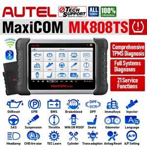 Autel MaxiCom MK808TS Auto Diagnostic Scan Tool Code Reader Better MK808 MK808BT