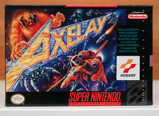 Axelay for the Super Nintendo - Personally Owned, Clean and Complete