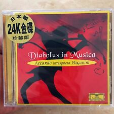 Diabolus in Musica - Salvatore Accardo Paganini Violin 24K Gold CD Japan Made