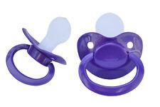 """Adult Big Pacifier  """"Violet""""  SILIKON  Gr. 6  - Nr. ASP-Violet S6"""