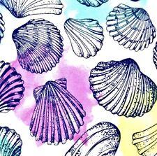 NWT Buttery Soft Seashell Nautical Leggings Tall & Curvy XL Beach Ocean Shell TC