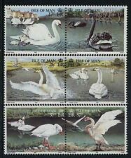 ISLE OF MAN, SCOTT, HINGED # 483a 85a 87a NATURE CONSERVATION