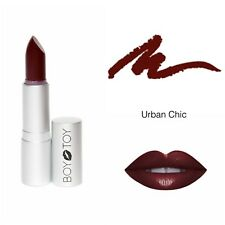 ALL NATURAL ORGANIC LIPSTICK - BOY TOY COSMETICS - 'URBAN CHIC' dark lipstick