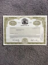 Canadian Fund Inc. Dated 1986 1 SharesINVALID SHARE CERTIFICATE