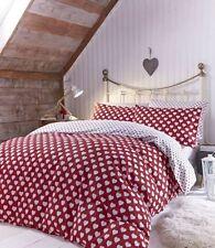 Linge de lit et ensembles rouge Catherine Lansfield en 100% coton