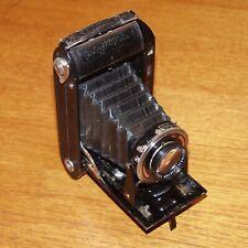 Voigtländer BESSA RF with 10.5cm f3.5 HELIAR LENS BLACK folding camera 1930s