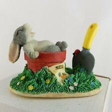 Charming Tails Bunny Rabbit Gardening Break Silvestri Dean Griff Figurine w/ Box