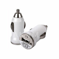 IN CAR USB CHARGER ADAPTER MINI BULLET FOR MOBILE PHONES PDA TABLET