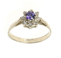 Amethyst Ring Sterling Silver Ring Made To Order In Jewellery Quarter B'ham