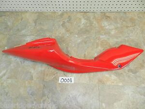 2010 HYOSUNG GT650R OEM RIGHT REAR TAIL FAIRING SUBFRAME SIDE COVER PLASTIC BODY