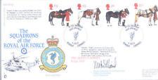 1997 Queen's caballos RAF FDC Firmado Co 203 Sea King Sqn Williams