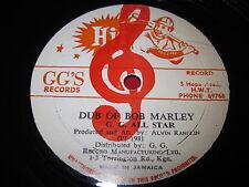 "DUB OF BOB MARLEY - G.G. ALL STAR - JAMAICA ALVIN RANGLIN RARE REGGAE 12"""