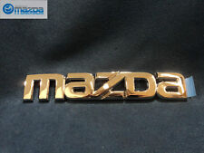 MAZDA 6 SEDAN AND HATCHBACK 2003-2008 NEW OEM REAR CHROME MAZDA EMBLEM