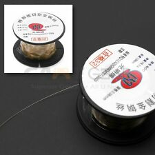 Gold Molybdenum Wire 100M/329ft Great For LCD Glass Separate Iphone Samsung HTC