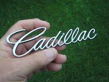 Genuine CADILLAC SCRIPT Badge Newer Style Caddy Emblem suit Man Cave WallDisplay