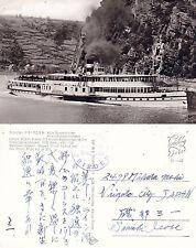 GERMAN STEAM SHIP DS FRIEDEN A SHIPS CACHED POSTCARD