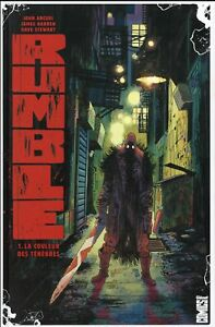 COMICS - RUMBLE, TOME 1 > LA COULEUR DES TENEBRES / ARCUDI, HARREN, GLENAT