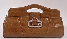 NEW Guess Demeter Clutch Bag Handbag - Light Brown