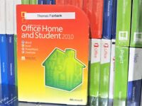 MICROSOFT OFFICE 2010 HOME AND STUDENT RETAIL [3-USER] DVD (USED) [79G-01900] UK