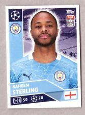 TOPPS CHAMPIONS LEAGUE 2020-21 MANCHESTER CITY FIGURINA N.MCI17 RAHEEM STERLING