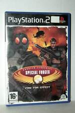 CT SPECIAL FORCES FIRE FOR EFFECT USATO SONY PS2 EDIZIONE ITALIANA GD1 43343