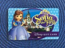 Sofia the First Disney gift card collectible only-  no $ value or points on it