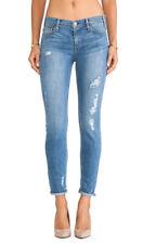 Mcguire Pirelli Ankle Roll Skinny Jeans in Empire Shredded Leg, sz 25