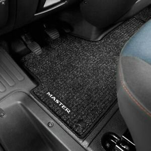 Genuine Renault Master X62 Front Tailored Carpet Floor Mat  7711427552  RH Drive