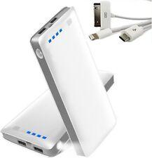 2 USB POWER BANK carica BATTERIA ESTERNA 50000mAh LED PER SMARTPHONE  PORTATILE