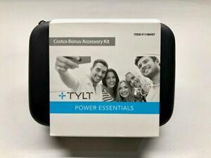 Tylt Power Essentials Bonus Accessory Kit   New   Black   1148497