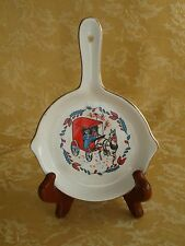 Vintage NORCREST Dish with Handle ~ Horse Cart