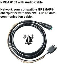 GARMIN NMEA 0183 WITH AUDIO CABLE Network Your Compatible GPSMAP® Chartplotter