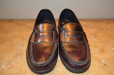 Sperry Top-sider Men's Burgundy Leather Penny Loafers Size 11