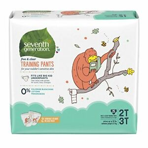 Seventh Generation Baby & Toddler Training Pants, Free & Clear, 25ct